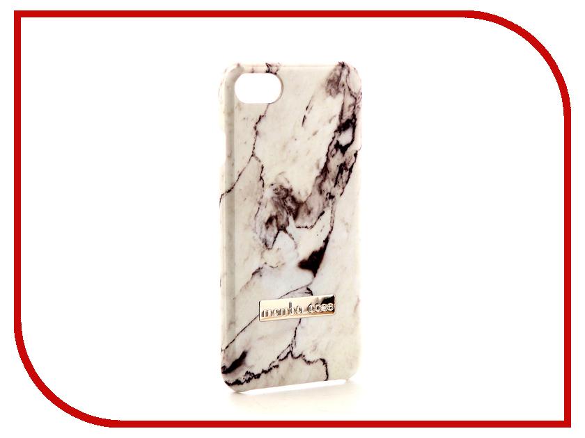 Аксессуар Чехол Mamba Case White для APPLE iPhone 7 / 8 аксессуар чехол apple iphone 8 7 leather case pink fuchsia mqhg2zm a