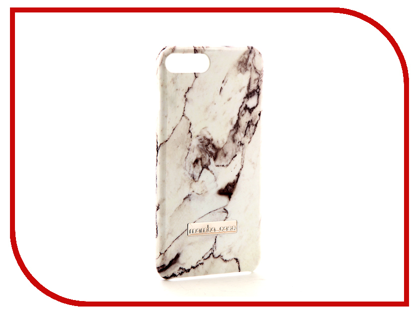для APPLE iPhone APPLE iPhone 7 Plus / 8 Plus  Аксессуар Чехол Mamba Case White для APPLE iPhone 7 Plus / 8 Plus