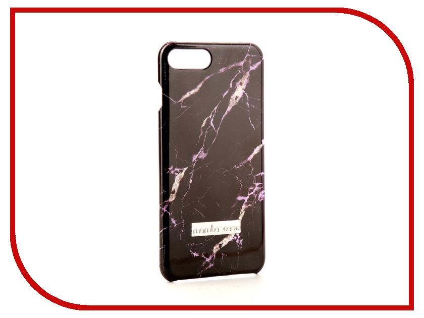 Аксессуар Чехол Mamba Case Black-Lilac для APPLE iPhone 7 Plus / 8 Plus аксессуар чехол бампер burkley snap on для apple iphone 7 plus black bmcujblrst1i7p