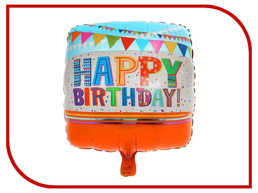 Шар фольгированный Anagram Happy Birthday Гирлянды 1352401