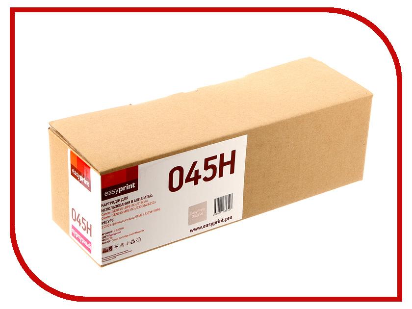 Картридж EasyPrint LC-045H Magenta для Canon i-SENSYS LBP611Cn/613Cdw/MF631Cn/633Cdw/635Cx картридж easyprint lc 045h m для canon i sensys lbp611cn 613cdw mf631cn 633cdw 635cx 2200 стр пурпурный с чипом