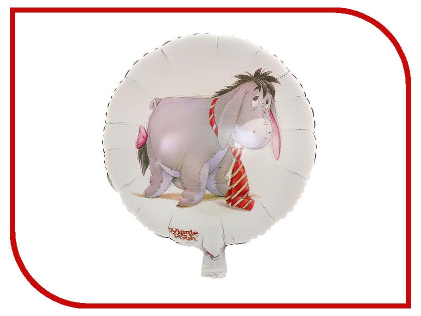 Шар фольгированный Disney Иа с галстуком 1352311 шар фольгированный disney винни на празднике 1352312