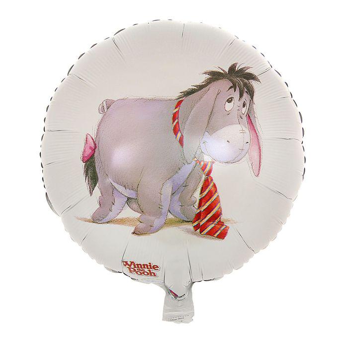 Шар фольгированный Disney Иа с галстуком 1352311