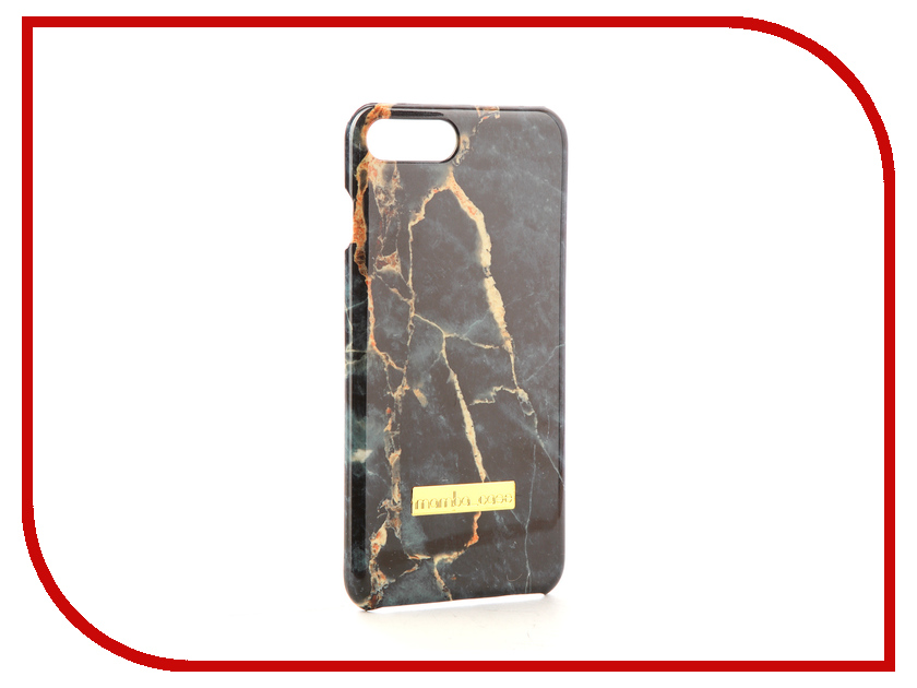 Аксессуар Чехол Mamba Case Emerald для APPLE iPhone 7 Plus / 8 Plus аксессуар чехол бампер burkley snap on для apple iphone 7 plus black bmcujblrst1i7p