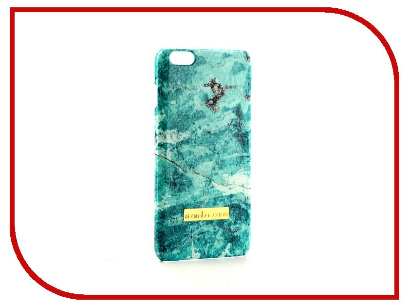 Аксессуар Чехол Mamba Case Turquoise для APPLE iPhone 6 Plus аксессуар защитное стекло monsterskin 5d для apple iphone 6 plus white