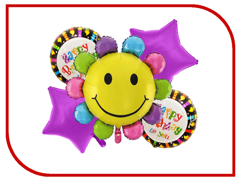 Букет из шаров СИМА-ЛЕНД С днем рождения 2796561