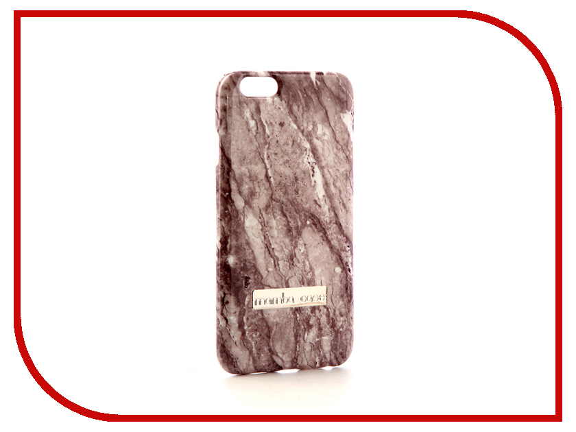 Аксессуар Чехол Mamba Case Grey Mineral для APPLE iPhone 6 / 6S чехол для apple iphone 6 iphone 6s leather case red