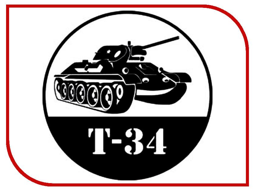 Купить Наклейка на авто Mashinokom Танк Т-34 20х20см VRC 913-01