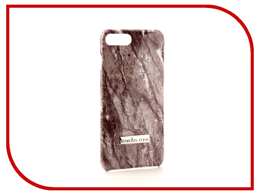 Аксессуар Чехол Mamba Case Grey Mineral для APPLE iPhone 7 Plus / 8 Plus