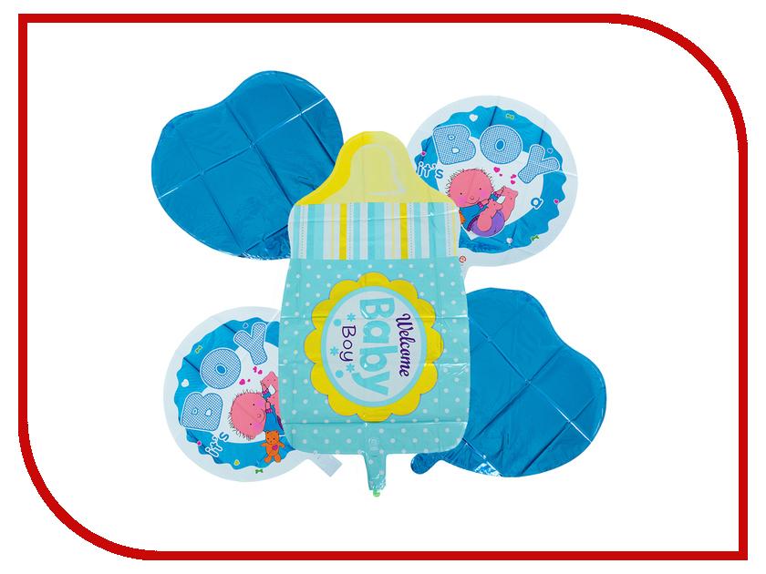 Букет из шаров СИМА-ЛЕНД Бутылочка Blue 2796559