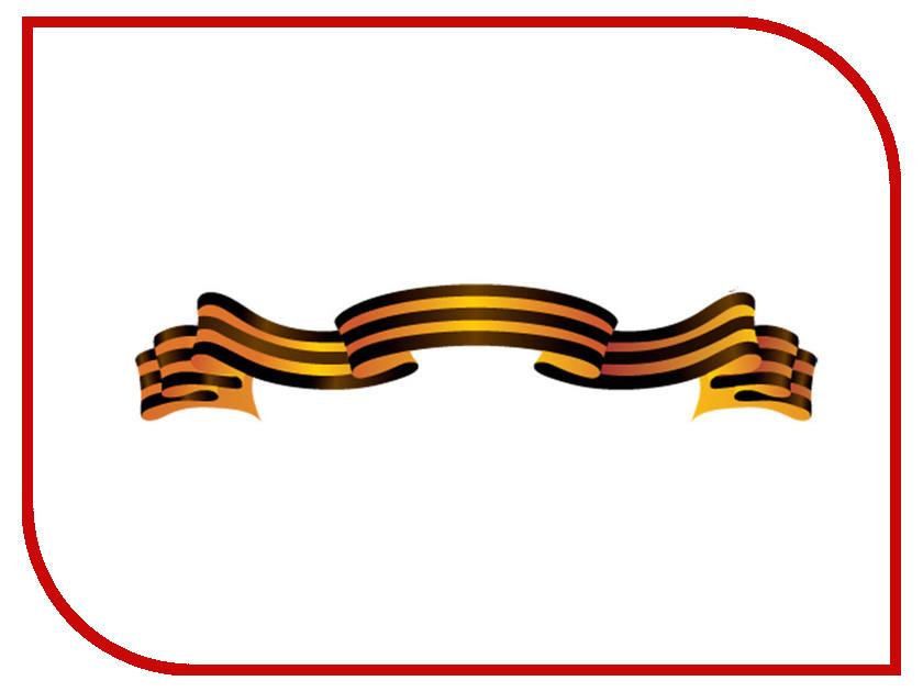 Наклейка на авто Mashinokom Георгиевская лента 22х70см VRC 900-10 наклейка на авто mashinokom за родину 10х50см vrc 934