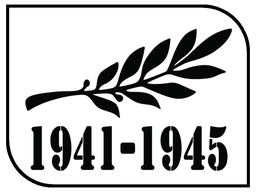 Наклейка на авто Mashinokom Памятная ветвь №2 14х24см VRC 900-06 канатная ветвь кантаплюс вк 5 6