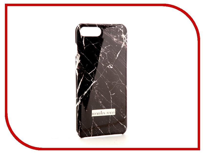Аксессуар Чехол Mamba Case Black Marble для APPLE iPhone 7 Plus / 8 Plus g case slim premium чехол для apple iphone 7 plus black