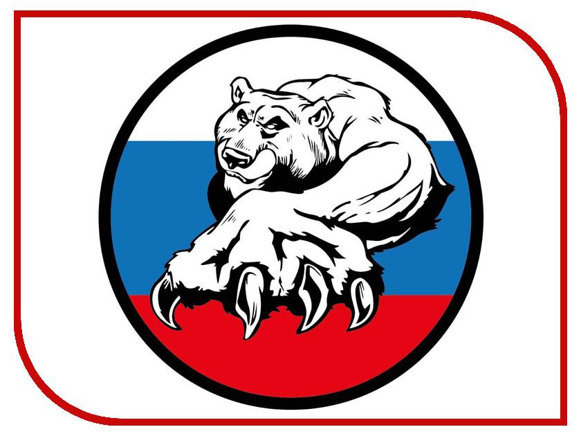 Наклейка на авто Mashinokom РУС Триколор медведь VRC 250-10 авто за 250 тыс