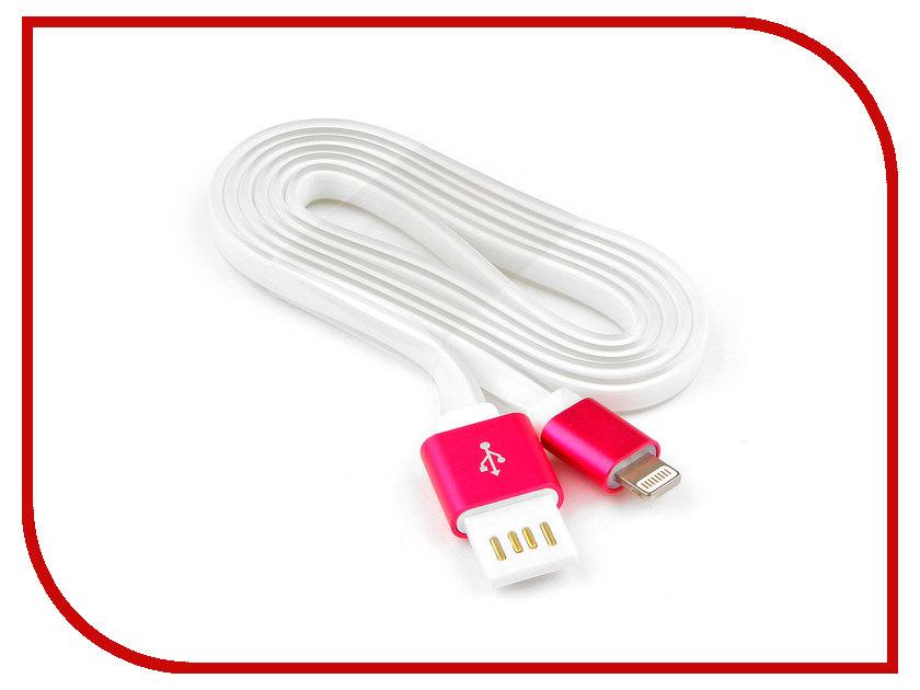 цена Аксессуар Gembird Cablexpert USB AM/Lightning 8P 1m Pink CC-ApUSBr1m