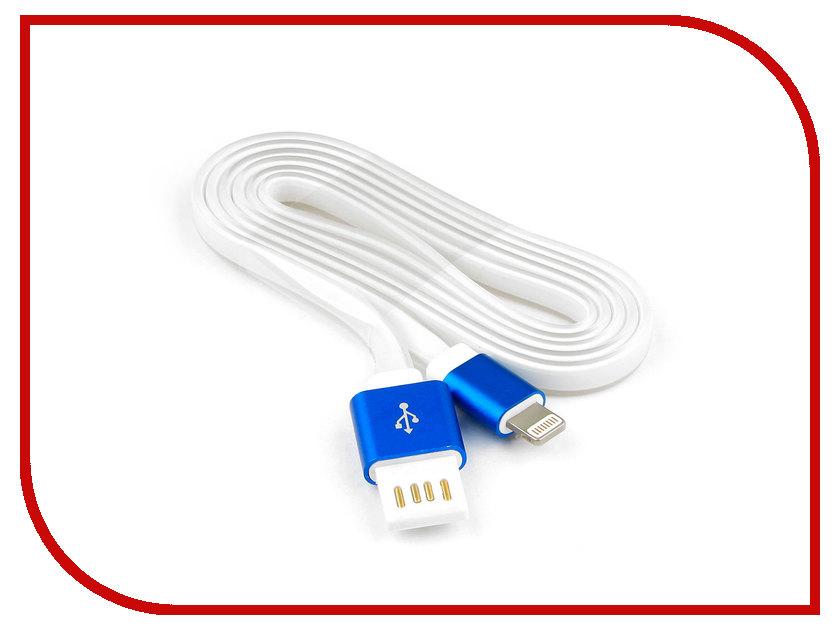 Аксессуар Gembird Cablexpert USB AM/Lightning 8P 1m Blue CC-ApUSBb1m аксессуар gembird cablexpert usb am lightning 8p 1m purple cc apusbp1m