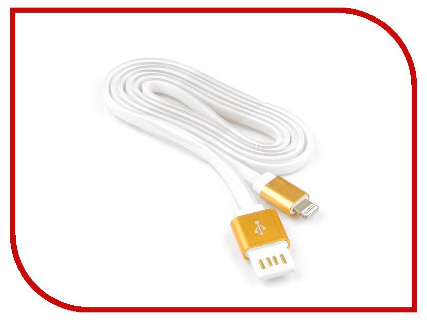 Аксессуар Gembird Cablexpert USB AM/Lightning 8P 1m Gold CC-ApUSBgd1m аксессуар gembird cablexpert usb am lightning 8p 1m purple cc apusbp1m