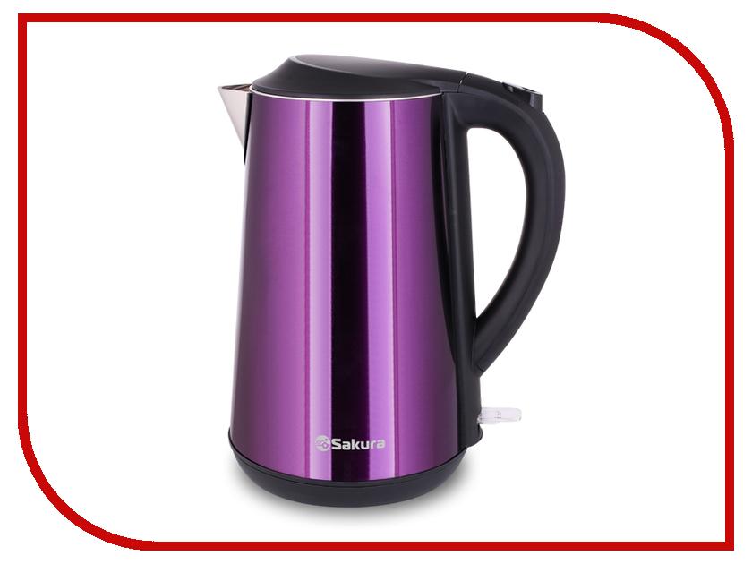 Чайник Sakura SA-2140MP 1.7L Purple утюг sakura sa 3048nr