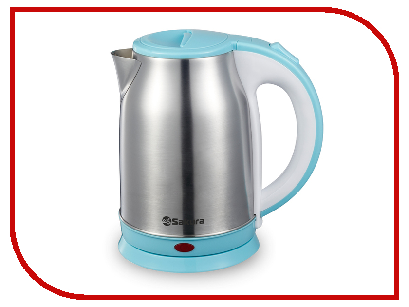Чайник Sakura SA-2147BL 1.8L Steel-Light Blue