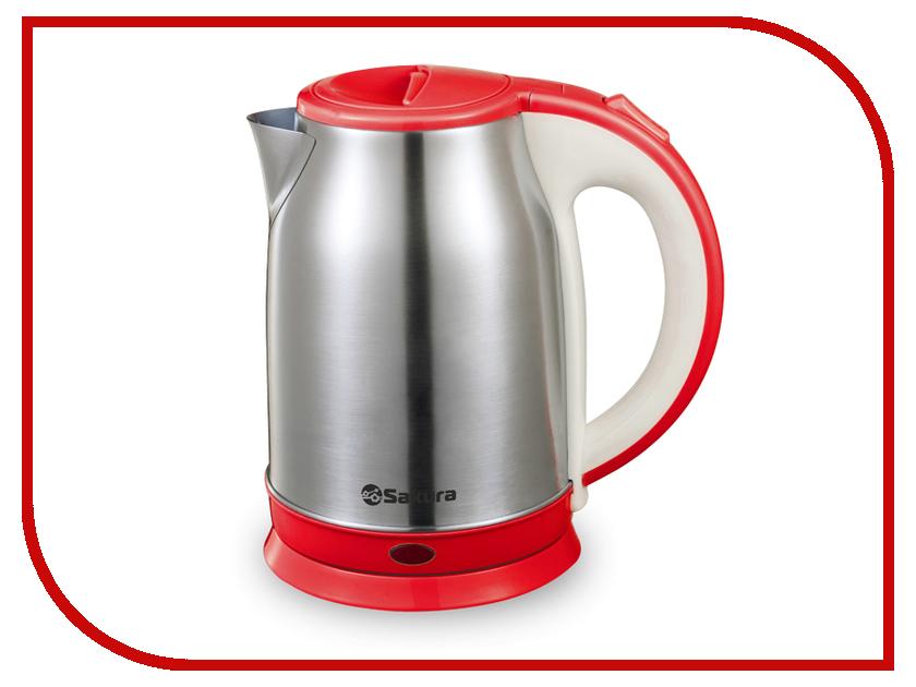 Чайник Sakura SA-2147R 1.8L Steel-Red термопот sakura sa 334rs steel red page 2