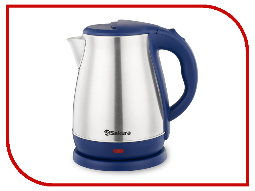 Чайник Sakura SA-2148BL 1.8L Steel-Blue термопот sakura sa 334rs steel red page 2