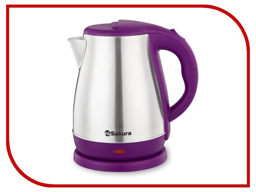 Чайник Sakura SA-2148P 1.8L Steel-Purple утюг sakura sa 3048nr