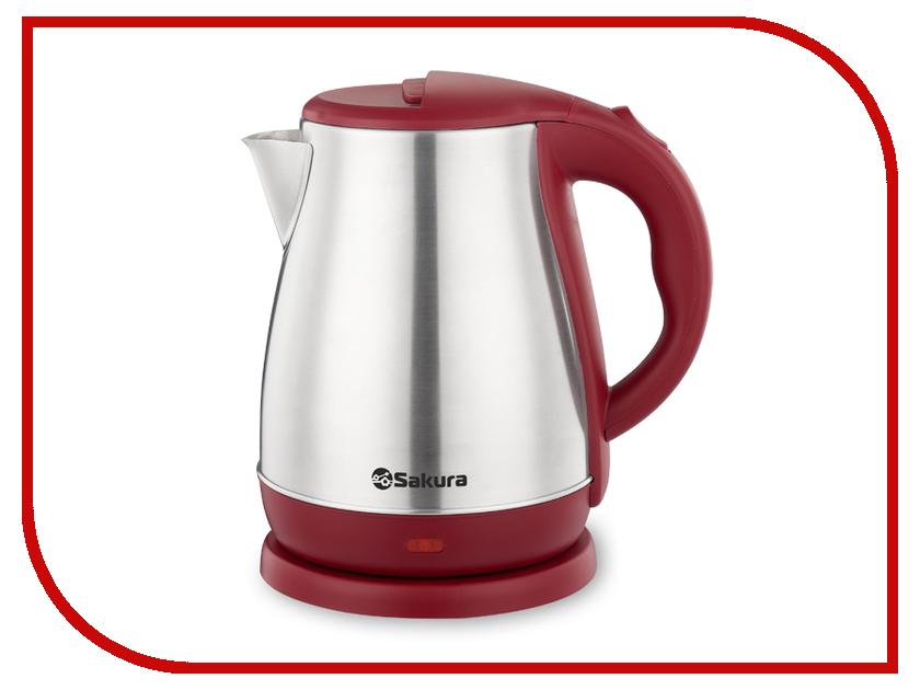Чайник Sakura SA-2148R 1.8L Steel-Red термопот sakura sa 334rs steel red page 2