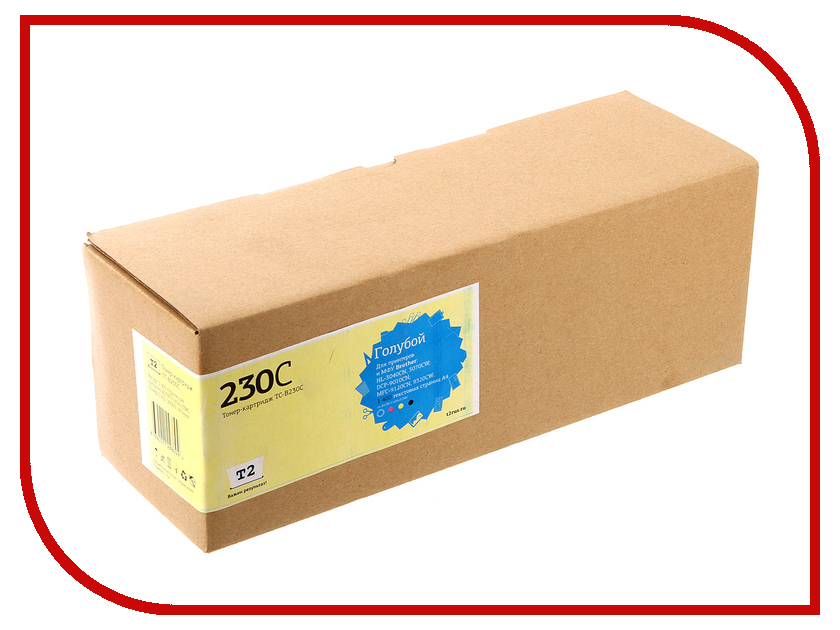 Картридж T2 TC-B230C Cyan для Brother HL-3040CN/DCP-9010CN/MFC-9120CN