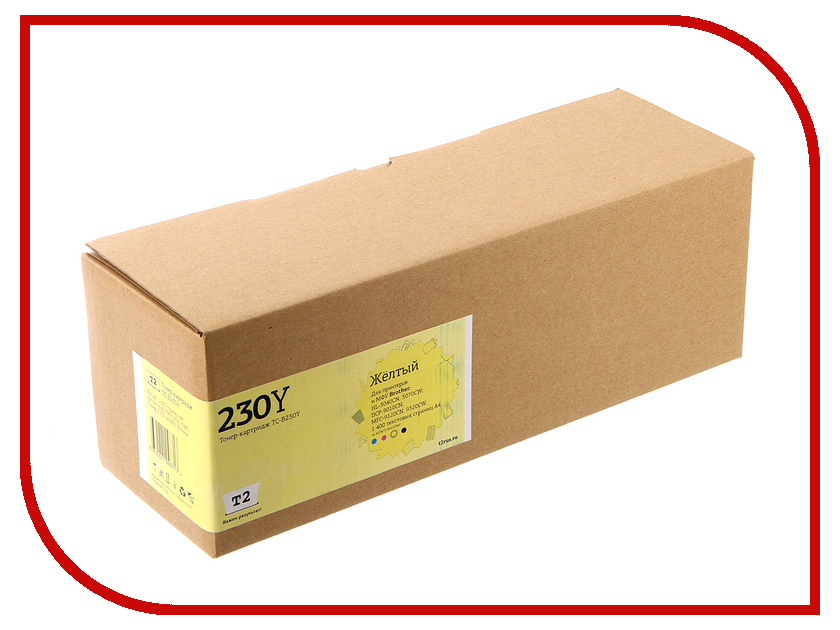Картридж T2 TC-B230Y Yellow для Brother HL-3040CN/DCP-9010CN/MFC-9120CN картридж для принтера t2 tc c725 black