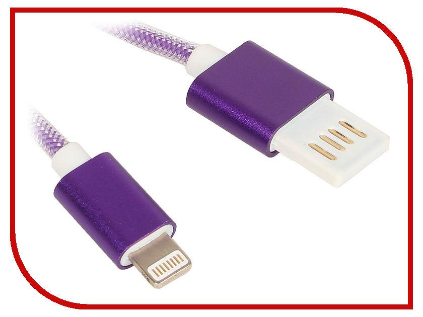 Аксессуар Gembird Cablexpert USB 2.0 AM/Lightning 8P 1m Purple CCB-ApUSBp1m аксессуар gembird cablexpert usb am lightning 8p 1m purple cc apusbp1m