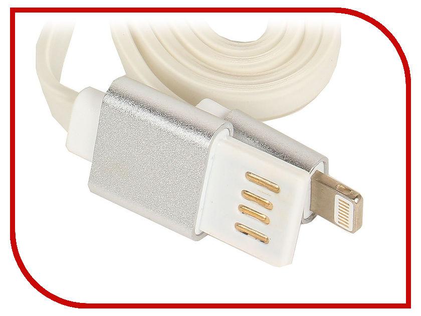 Аксессуар Gembird Cablexpert USB 2.0 AM/Lightning 8P 1m Silver CC-ApUSBs1m аксессуар gembird cablexpert usb am lightning 8p 1m purple cc apusbp1m