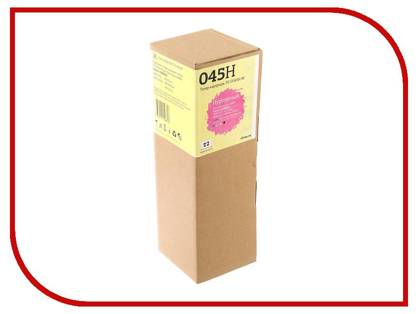 Картридж T2 TC-C045H Magenta для Canon i-SENSYS LBP611Cn/613Cdw/MF631Cn/633Cdw/635Cx принтер canon i sensys colour lbp653cdw лазерный цвет белый [1476c006]