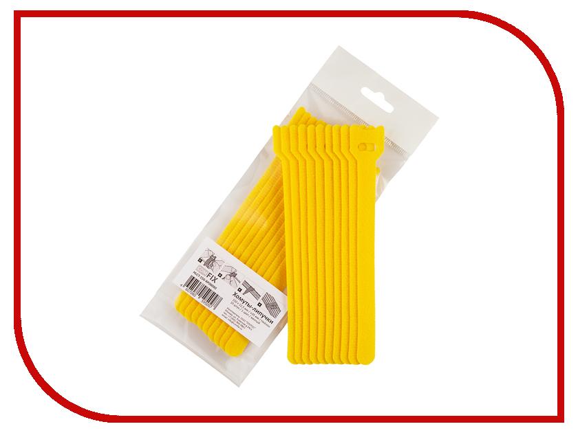 Хомуты-липучки Comfix 150x12mm 10шт Yellow HLCT-150-RP000X0 costa blanca 1 150 000