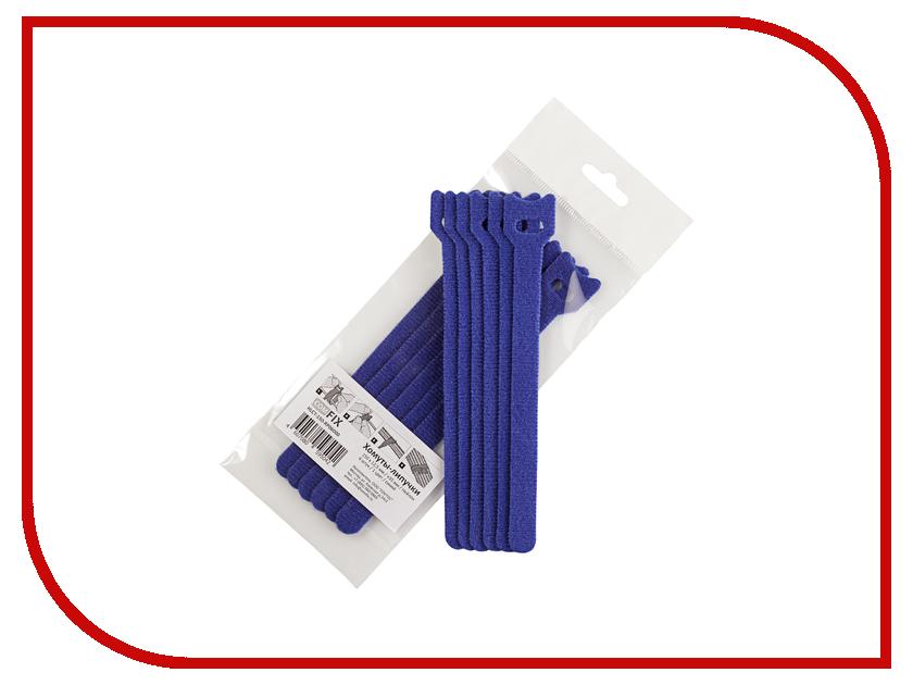 Хомуты-липучки Comfix 150x12mm 6шт Blue HLCT-150-RP06000