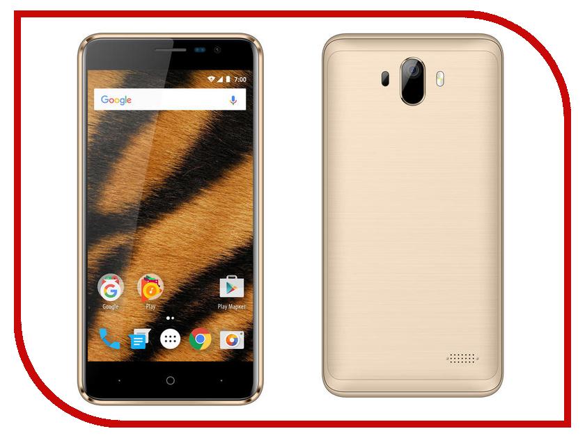 Сотовый телефон Vertex Impress Tiger LTE Gold