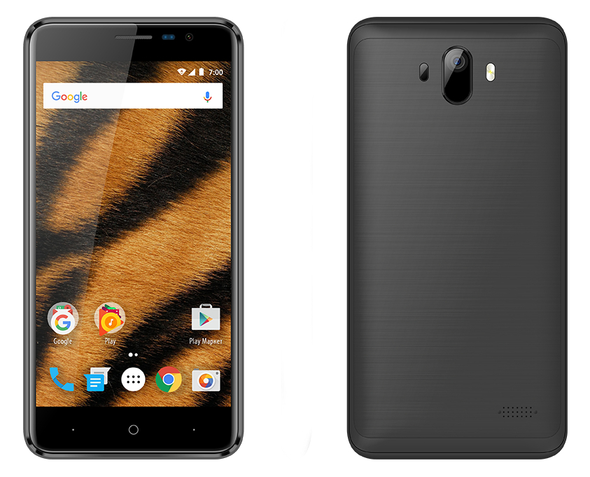 Сотовый телефон Vertex Impress Tiger LTE Black vertex impress u black