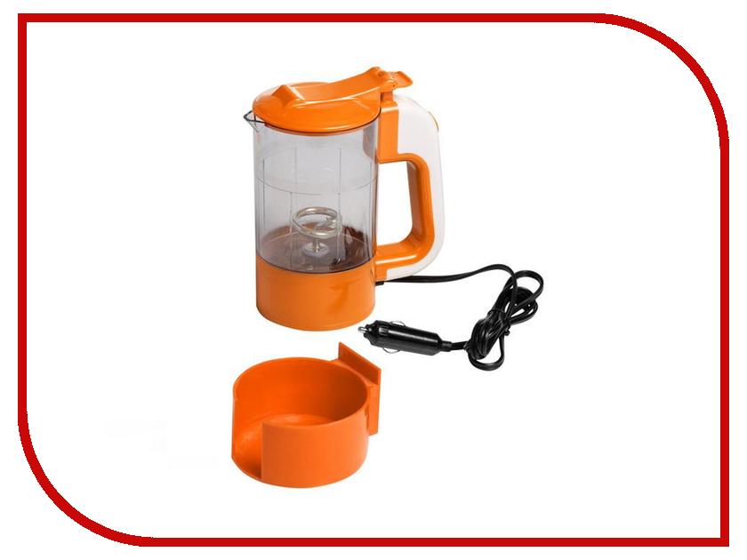 Аксессуар Чайник Airline ABK-12-03 12V Transparent-Orange сумка холодильник термосумка 20л airline ao cb 03