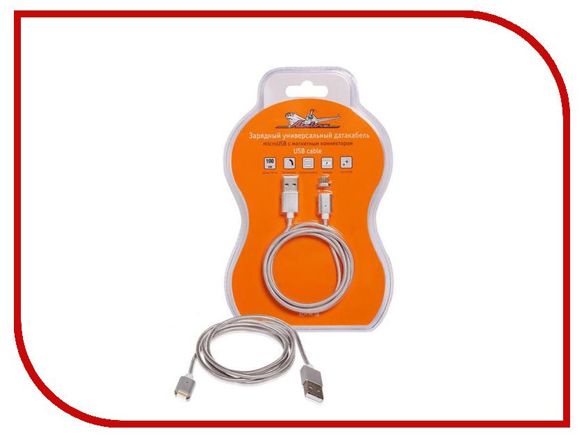 Аксессуар Airline USB - microUSB 1m ACH-M-18 с магнитным коннектором airline ach m 02
