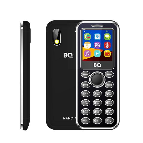 Сотовый телефон BQ BQ-1411 Nano Black цена и фото