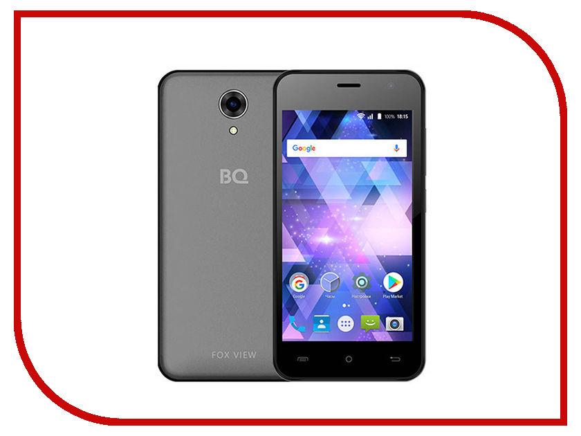 Сотовые / мобильные телефоны, смартфоны 4585 Fox View  Сотовый телефон BQ 4585 Fox View Titanium Grey