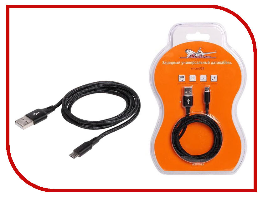 Аксессуар Airline USB - microUSB ACH-M-23 airline ach m 02