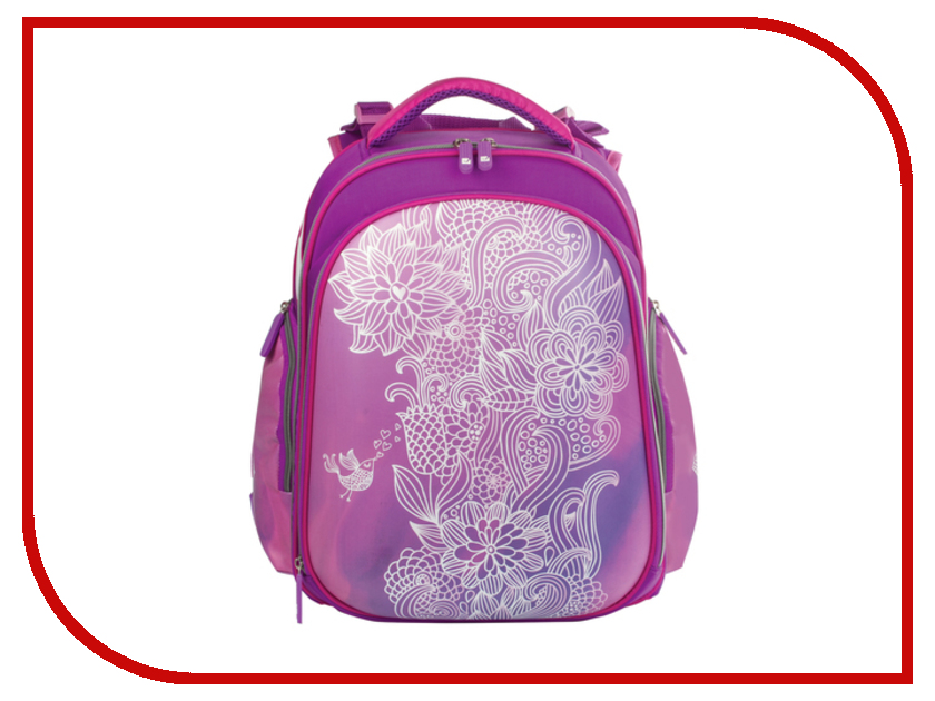 Рюкзак BRAUBERG Маджента Жесткокаркасный 226926 рюкзак детский brauberg brauberg школьный рюкзак flagman
