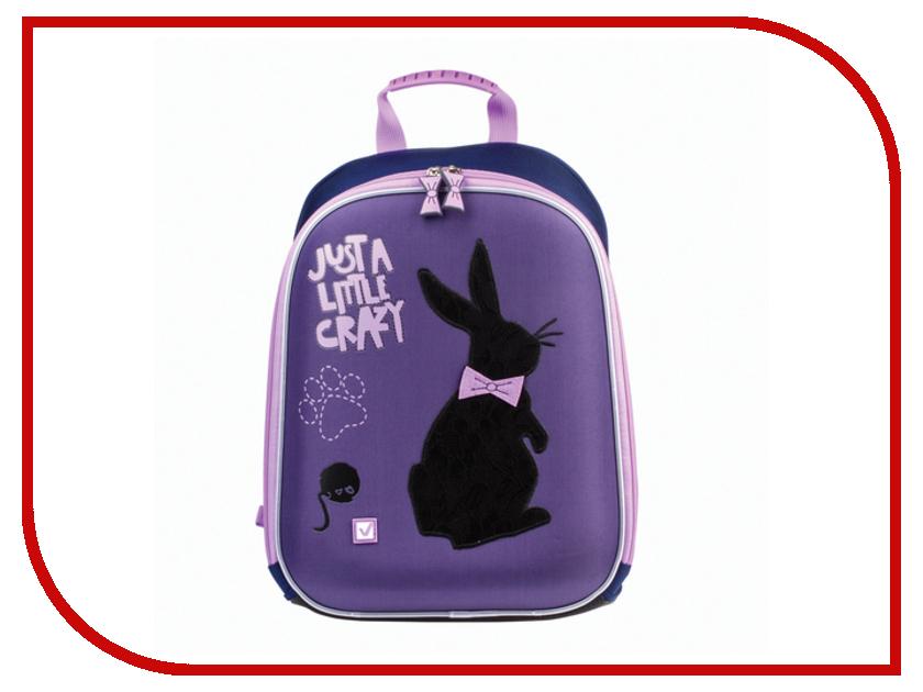 Рюкзак BRAUBERG Чёрный кролик Жесткокаркасный 226929 рюкзак сумка детский пушистый кролик цвет серый