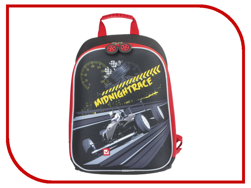 Рюкзак BRAUBERG Миднайт Жесткокаркасный 226934 рюкзак детский brauberg brauberg школьный рюкзак flagman