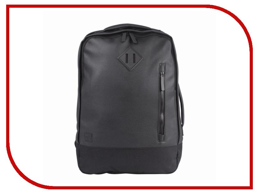 Рюкзак BRAUBERG Квадро Black 227088 brauberg brauberg рюкзак урбан голубой