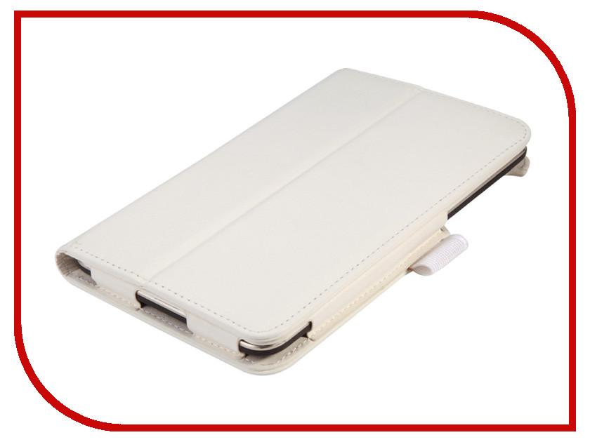 Аксессуар Чехол Lenovo TB3 Essential 7 710i / 710F IT Baggage White ITLN710-0 чехол для asus zenpad z580c z580ca it baggage эко кожа черный