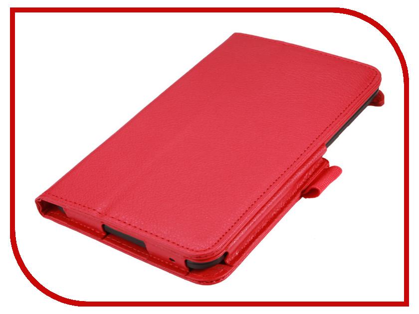 Аксессуар Чехол Lenovo TB3 Essential 7 710i / 710F IT Baggage Red ITLN710-3 чехол для asus zenpad z580c z580ca it baggage эко кожа черный