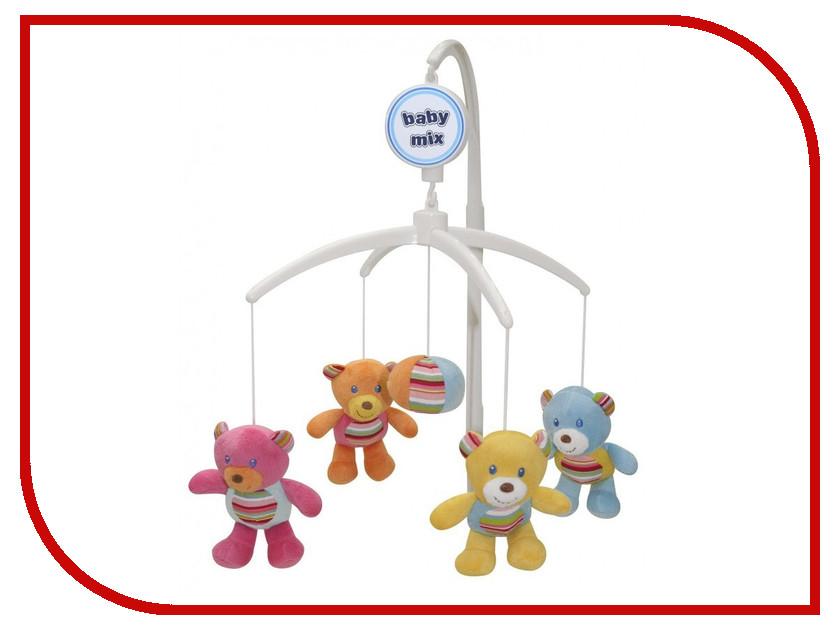 Музыкальный мобиль Baby Mix Цветные мишки 798