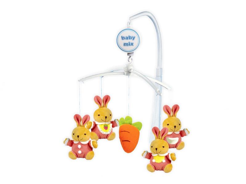 Музыкальный мобиль Baby Mix Кролики 708