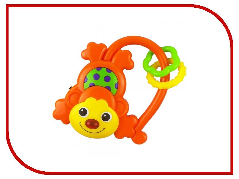 Погремушка Baby Mix Обезьянка Orange 593